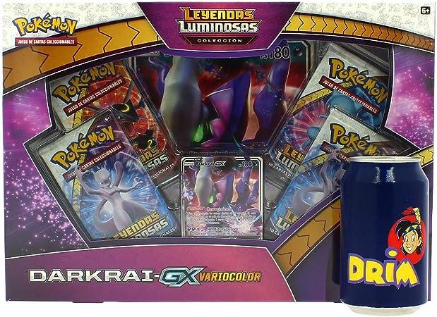 Pokemon JCC Pokemon-Colección Darkrai GX Variocolor de Leyendas Luminosas-Español, Color (The International Company POGX1805): Amazon.es: Juguetes y juegos