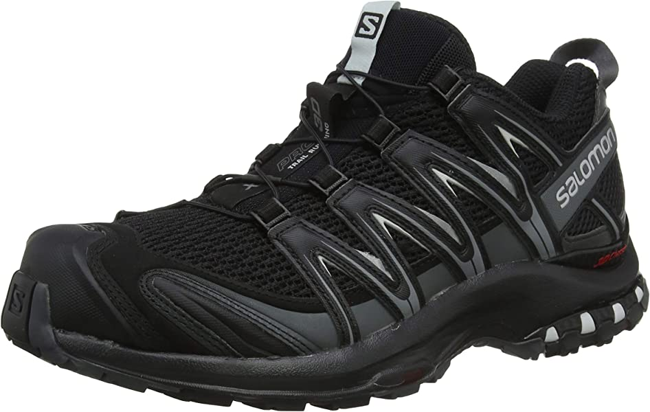 8f67ad5b39cd Salomon Men s XA Pro 3D Trail Running Shoes