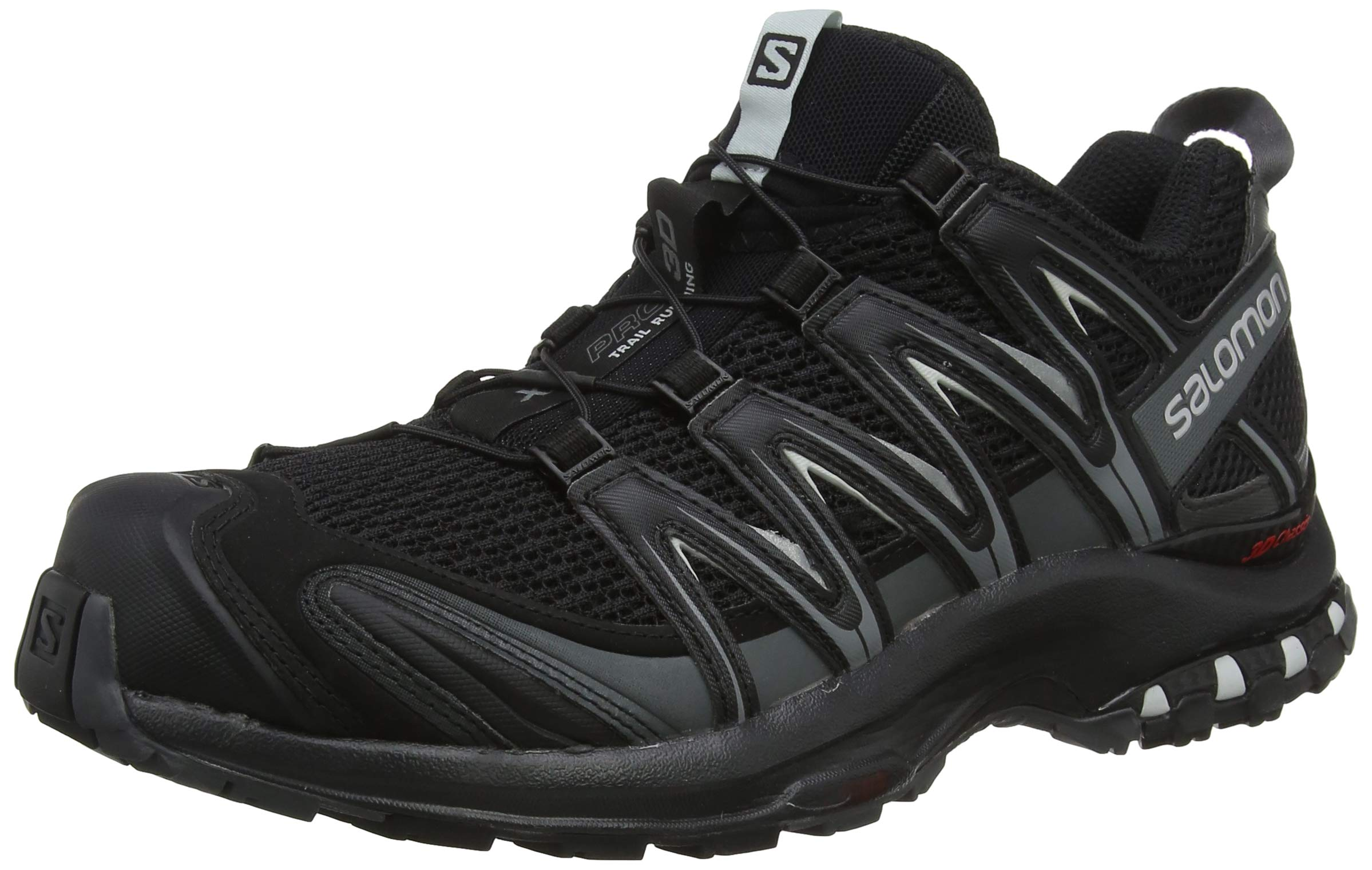 Salomon Men's XA PRO 3D Trail Running Shoe, Black, 12.5 M US