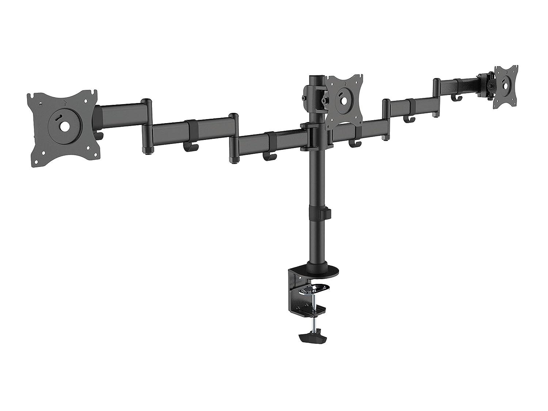Equip 650116 Tischhalterung LCD VESA, 3 Monitore, 33,02-68,58 cm (13-27 Zoll) Schwarz
