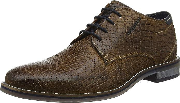 TALLA 43 EU. bugatti 3.12646e+11, Zapatos de Cordones Derby para Hombre