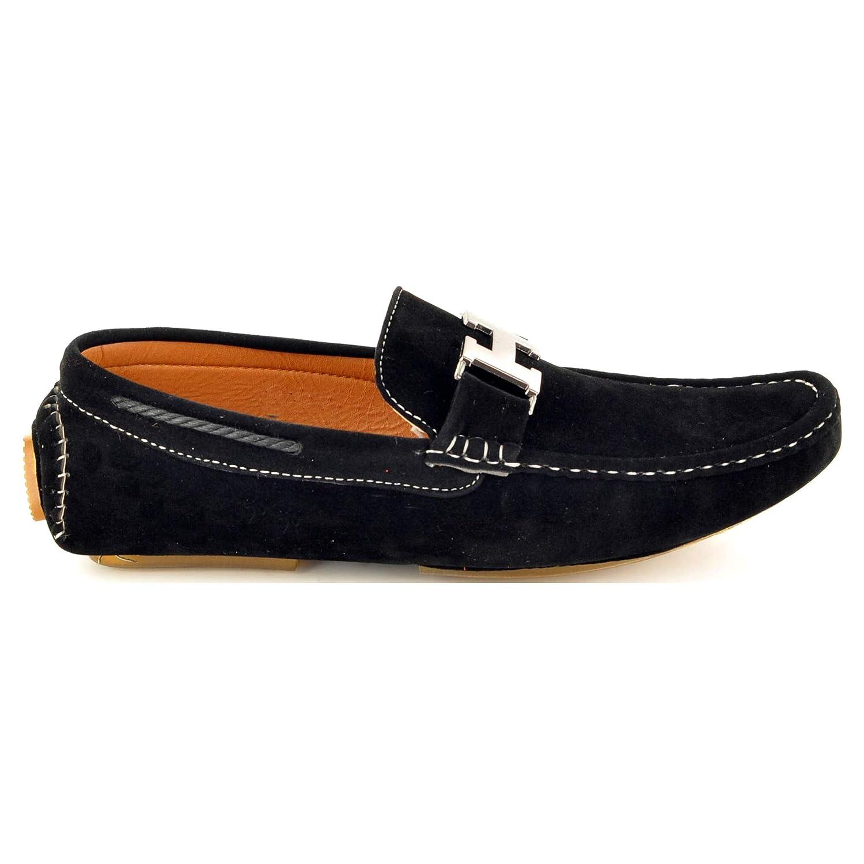 My Perfect Pair - Mocasines de piel sintética para hombre Beige beige: Amazon.es: Zapatos y complementos