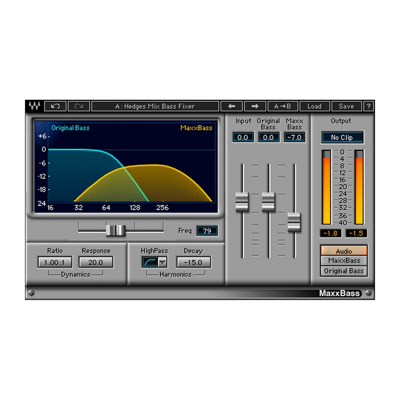 Waves MaxxBass | Bass Enhancement Plugin Software Download Only by Waves