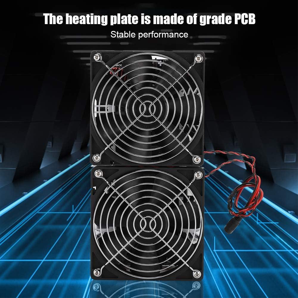 Alta Eficiencia,para DIYer ASHATA Calentador de Inducci/ón 12V-48V 2500W Calentador de Inducci/ón de Alta Frecuencia,Controlador de Retorno de M/ódulo de Placa PCB,Alta Potencia