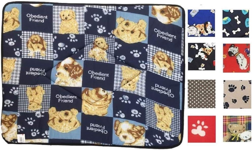 Ducomi® Tobia-Alfombrilla y caseta con cama para perro y gato con funda impermeable-Cojín impermeable para perros, gatos y animales domésticos