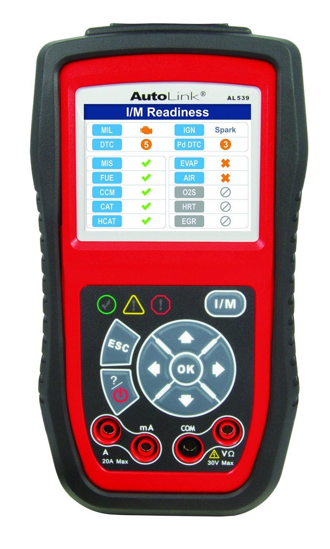 Autel AL539 OBD2 Scanner Car Code Reader Professional Electrical Test Tool (Upgraded Version of AL519)