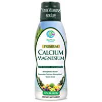 Tropical Oasis Liquid Calcium & Magnesium - Natural formula w/ support for strong...
