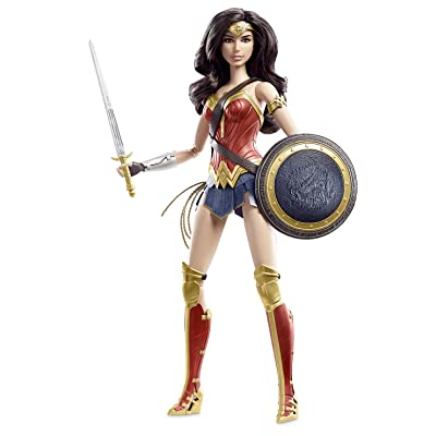 Barbie Collector Batman v Superman: Dawn of Justice Wonder Woman Doll: Toys & Games