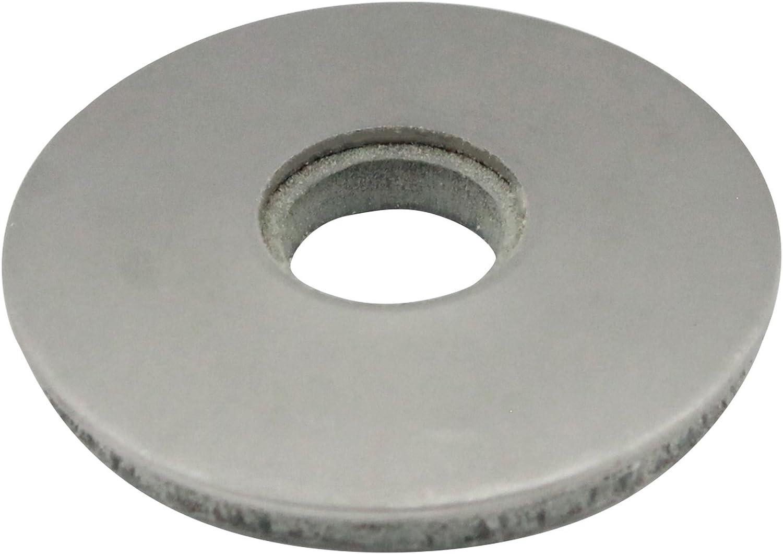 - gew/ölbt - SC9055 Dichtscheiben mit EPDM//Neopren-Dichtung rostfreier Edelstahl A2 6,7x16 f/ür M6 - V2A 10 St/ück SC-Normteile/®