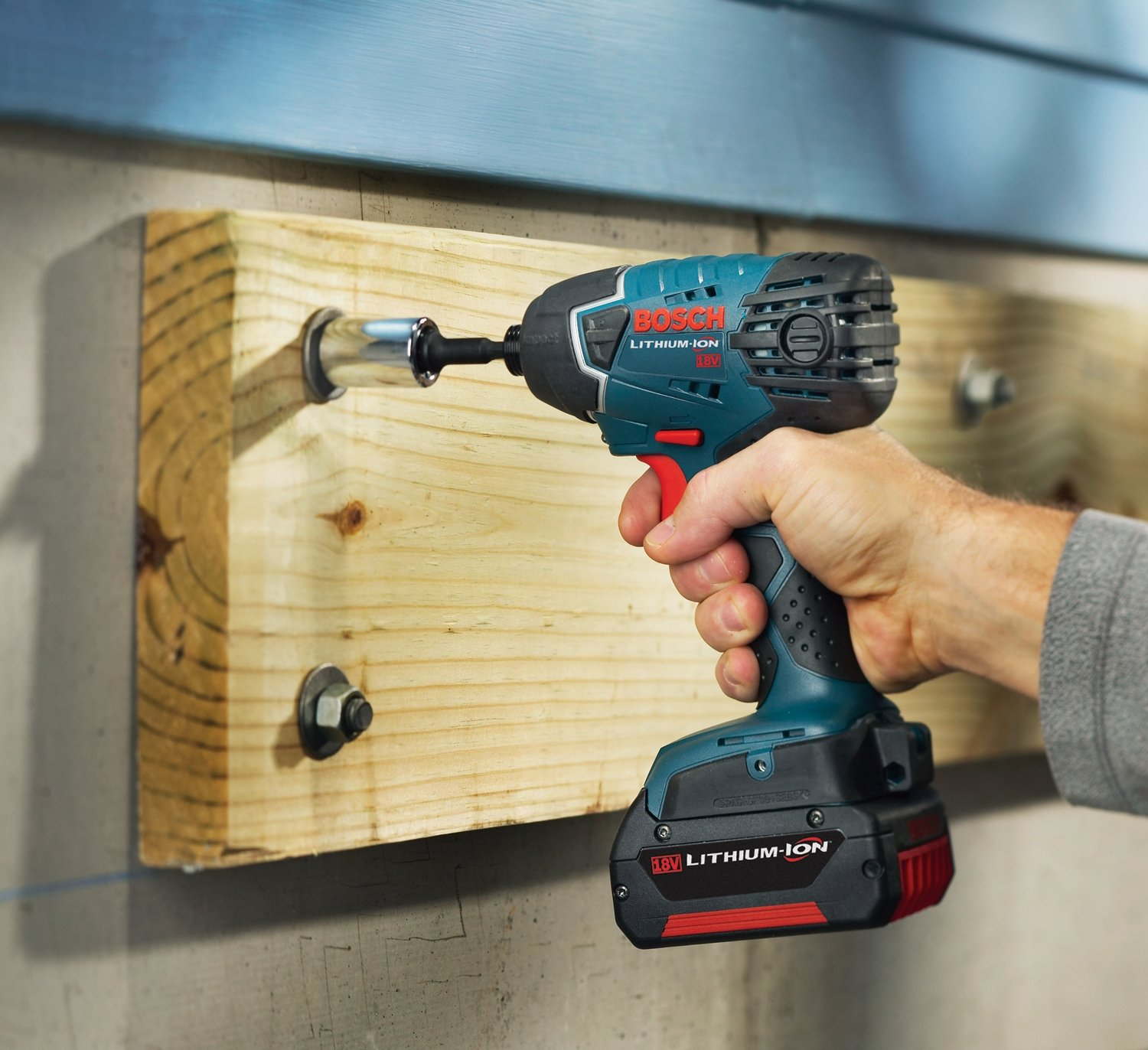 Bosch Bare-Tool 25618B 18-Volt Lithium-Ion 1 4-Inch Hex Impact Driver