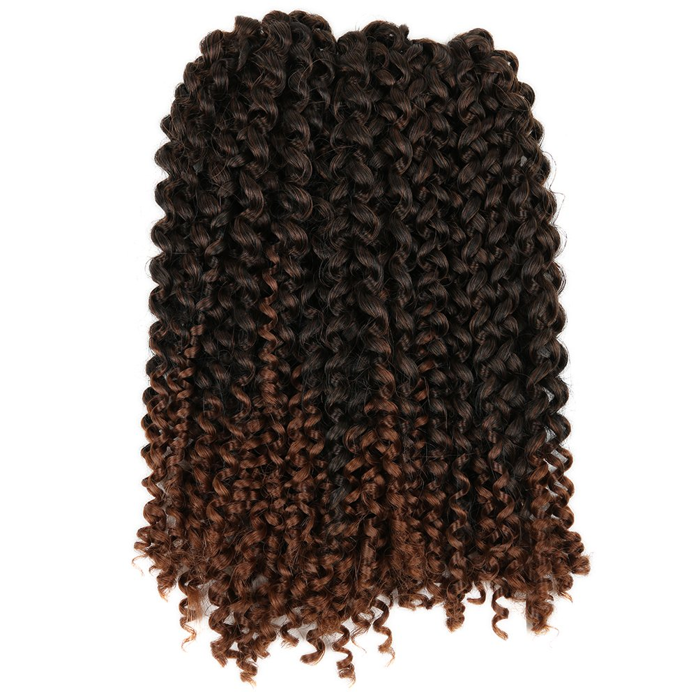 Lady Miranda Ombre Color Afro Kinky Curly Braiding Hair Extensions