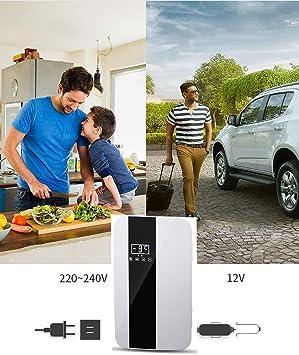 Nevera compacta de 22L y Mini refrigerador con termostato ...