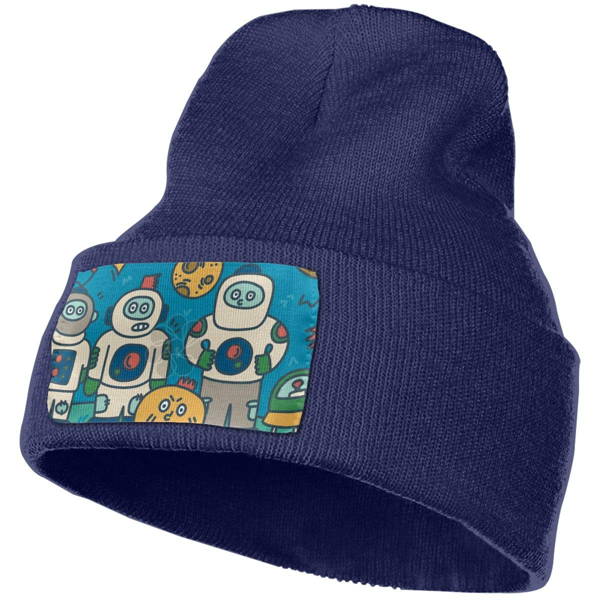ONHIM Cartoon People Men /& Women Soft Warm Knit Beanie Hat Skull Ski Cap