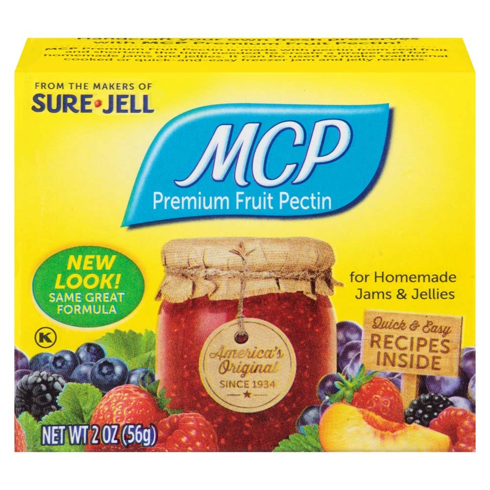 MCP Premium Fruit Pectin by Sure-Jell, 2 Ounce Box (Pack of 8)
