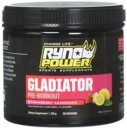 Ryno Power Gladiator Pre Workout 30 Servings