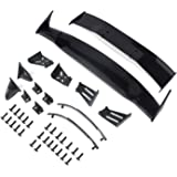 Coolplay 1/10 RC Car Body Wing Spoiler Body Shell Rear Spoiler Tail Wing Side Mirror Toy Vehicles Parts