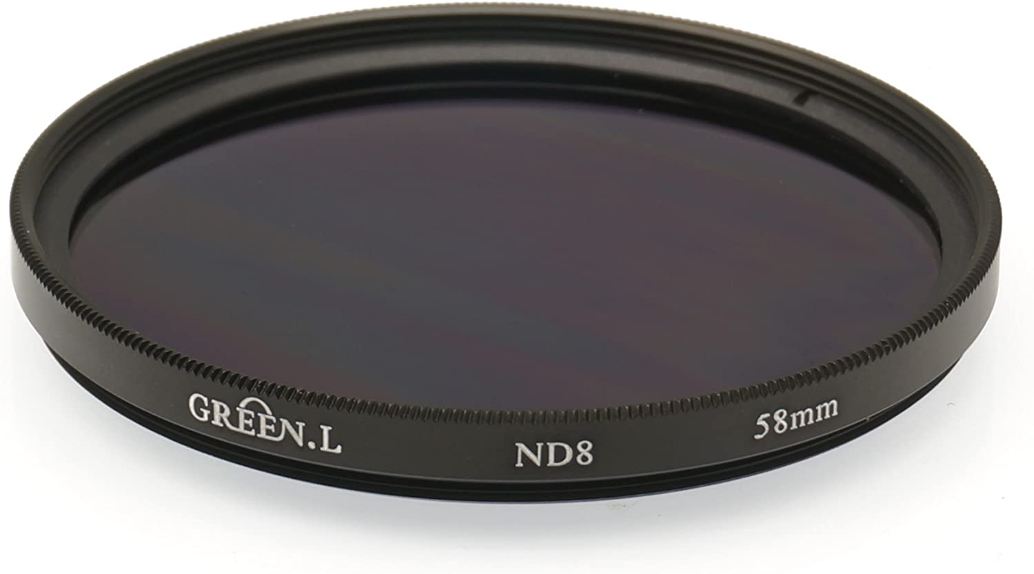 Green L 58mm Neutral Density ND8 Filter for Fujifilm XC 50-230mm F4.5-6.7 OIS II F4.5-6.7 OIS