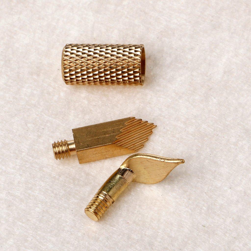 Dabixx 22 Piezas de Madera Puntas de lápiz ardiente Plantilla Soldadura de Hierro Pirograbado Talla de Trabajo: Amazon.es: Hogar