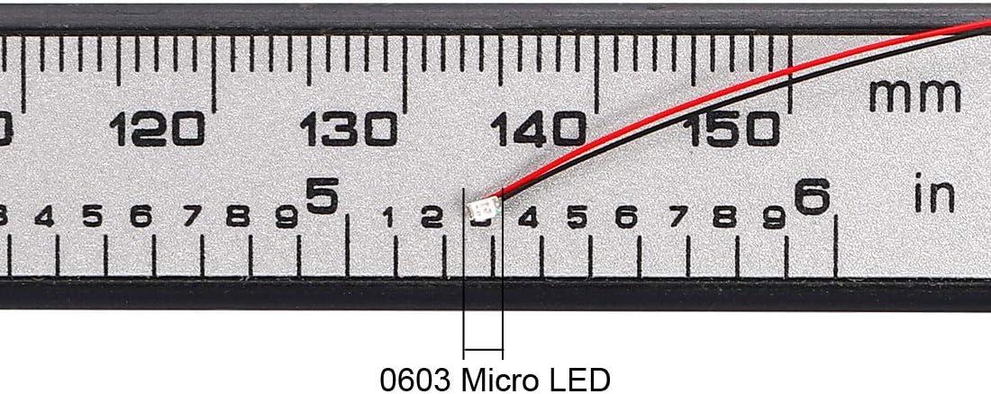 uxcell 5pcs Prewired 0805 Purple SMD LED Light Emitting Diode DC2.8-3V Micro Soldered Mini LED Light