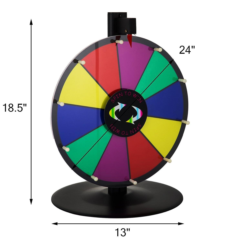 Happybuy mesa color premio rueda con plegable trípode soporte de ...