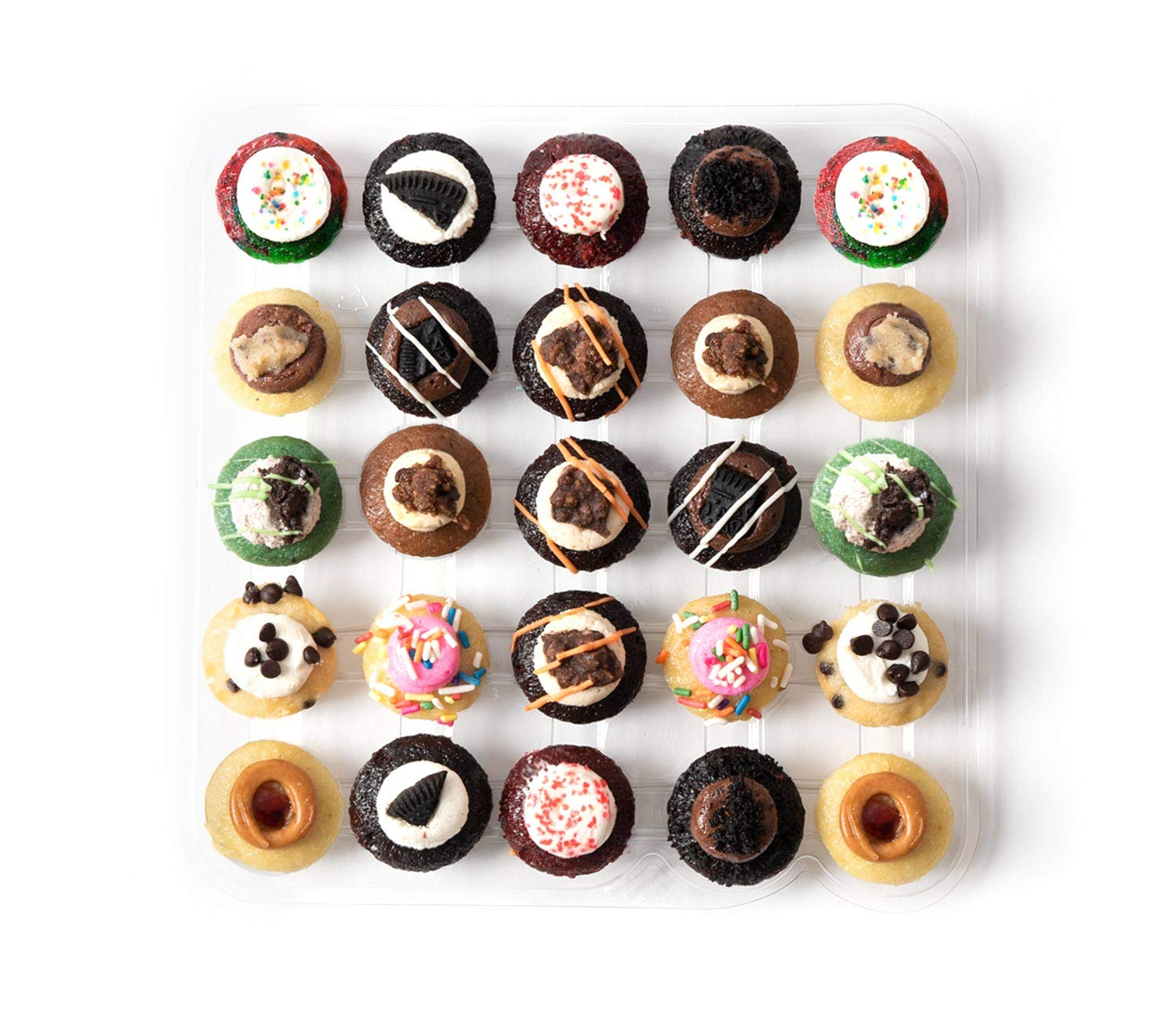 Baked by Melissa Cupcakes The Latest & Greatest - Assorted Bite-Size Cupcakes, 25 Count by Baked by Melissa