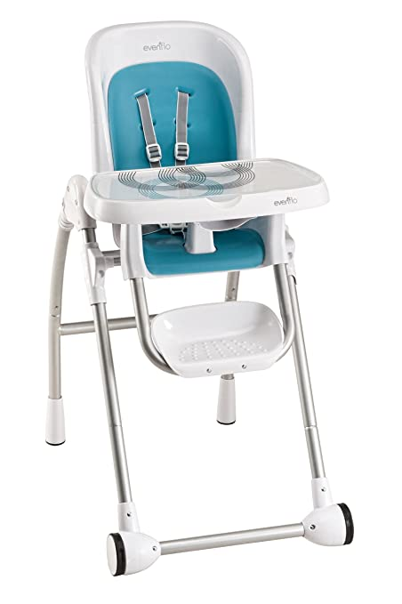 Superb Amazon.com : Evenflo Modern 300 High Chair, Trivet Blue (Discontinued By  Manufacturer) : Childrens Highchairs : Baby