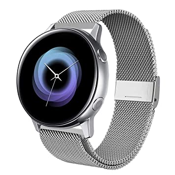 Correa para Samsung Galaxy Watch Active 2 40mm, Weideworld 20mm ...