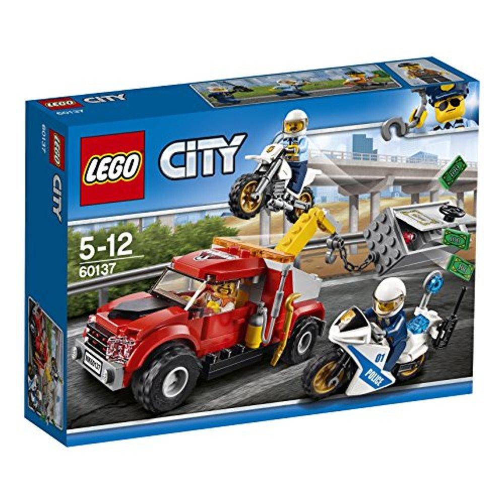 LEGO City Camión grúa problemas