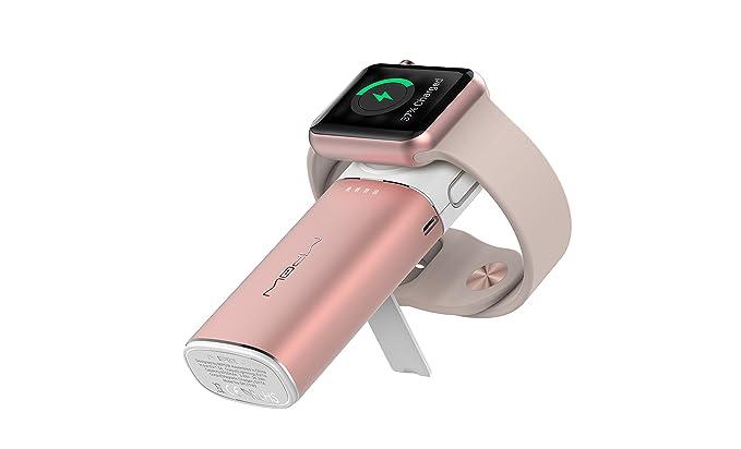 Amazon.com: Mipow – Cargador inalámbrico para Apple Watch y ...