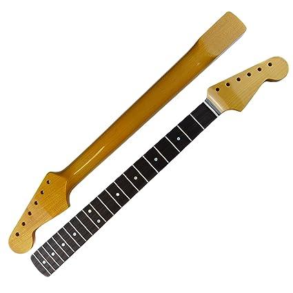 """SRV estilo Stratocaster Cuello – 12 """"Radio diapasón de madera de palisandro"""