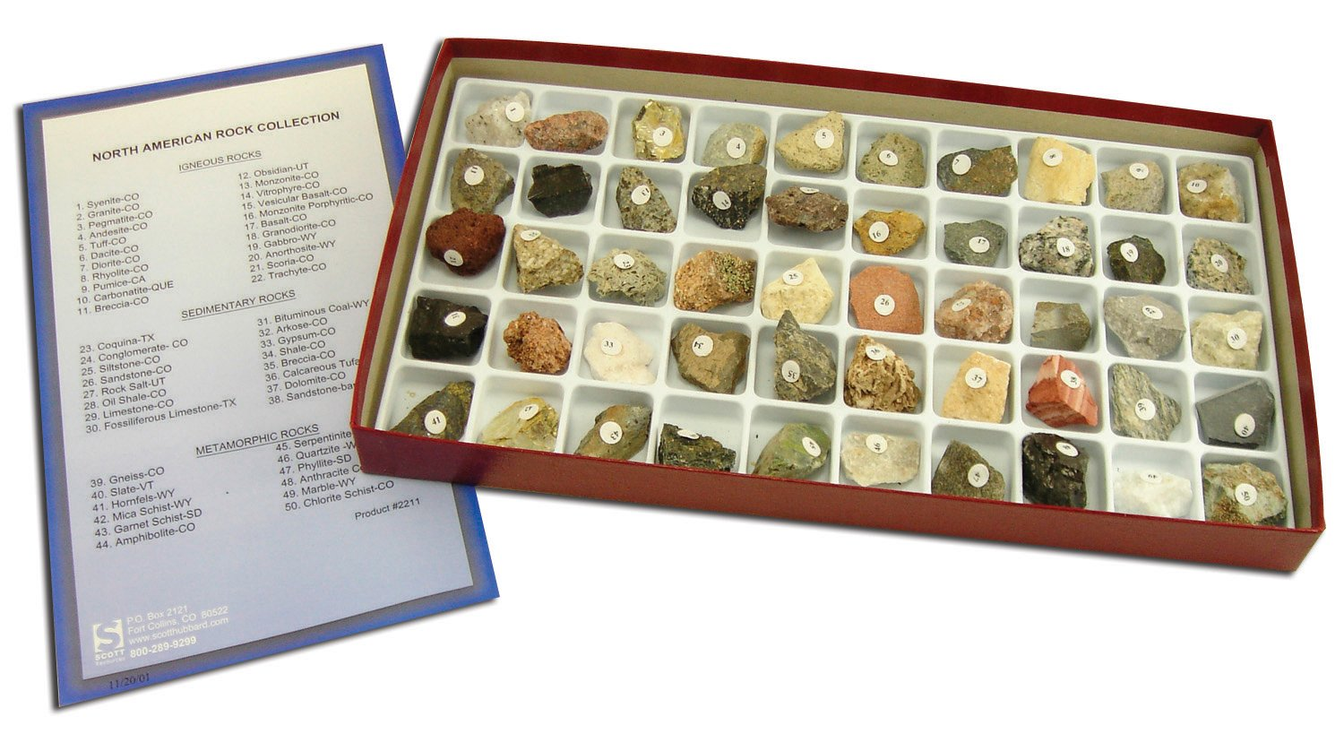Scott Resources North American Rock Collection