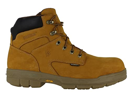 51d84340c43566 New Mens Wolverine Turner S3 Safety Steel Toe Midsole Work 6 quot  Building  Boot Shoe (