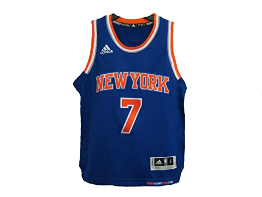 Carmelo Anthony New York Knicks adidas Light Blue 2014-15 New Swingman Road  Jersey (