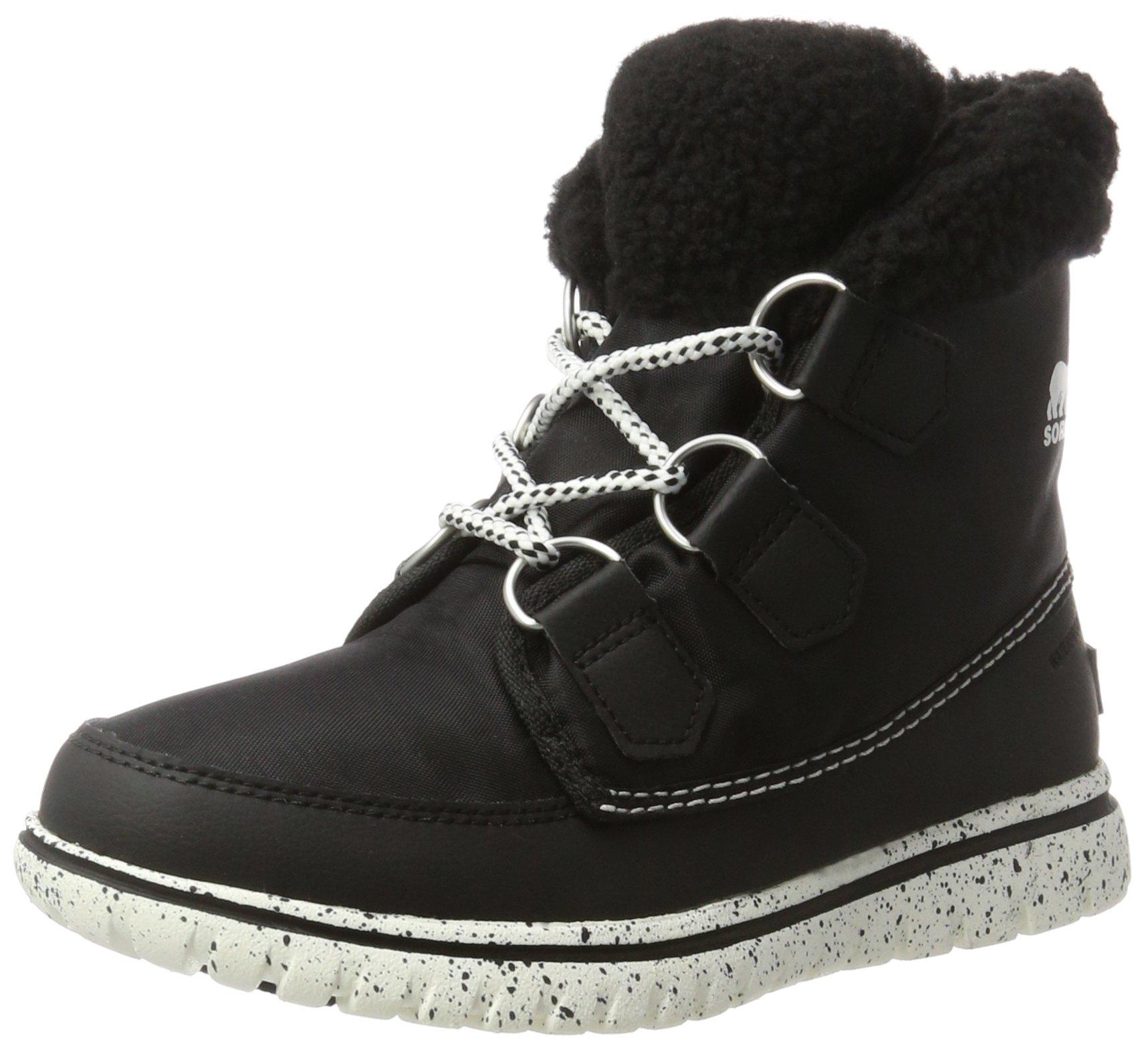 SOREL Women's Cozy Carnival Snow Boot, Black, 9.5 B(M) US