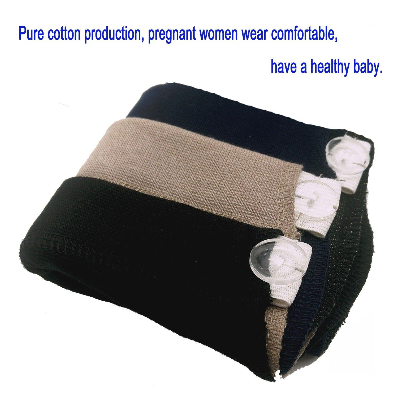 KANGYH Fertilemind Pregnancy Belt Pregnancy Diadema Pantalones y Falda