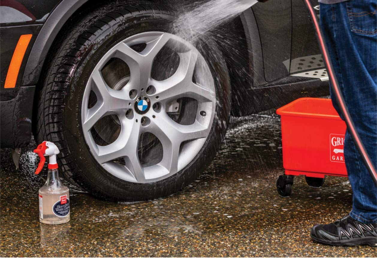 Griot's Garage 11027 Heavy Duty Wheel Cleaner Gallon by Griot's Garage (Image #7)