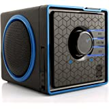 GOgroove BX Portable Speaker System w/ Rechargeable Battery & 3.5mm Aux Port - Works With Apple , Samsung , HTC , Sony and More Smartphones , Tablets , MP3 Players , Computers & more