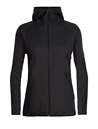 416f5fa06 Amazon.com: Icebreaker Merino Women's Coriolis Ii Hooded Windbreaker ...
