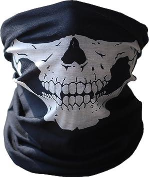 10pcs Fashion polvo Máscara esqueleto fantasma máscara de diseño de calaveras motorista de deber Cos Disfraz