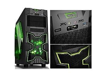 rgdigital Green A6 - PC Desktop Gaming Ninja Ventilador ...