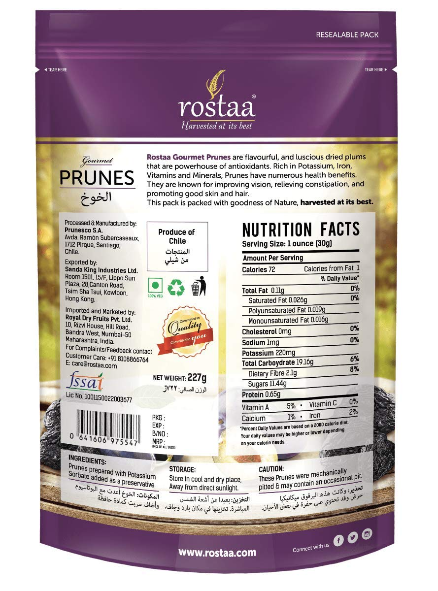 Rostaa Value Pack, Prunes, 1000G