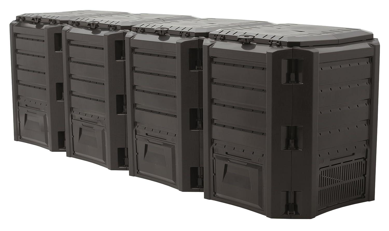 Prosperplast - Compostador de 1600 l Resistente: Amazon.es ...