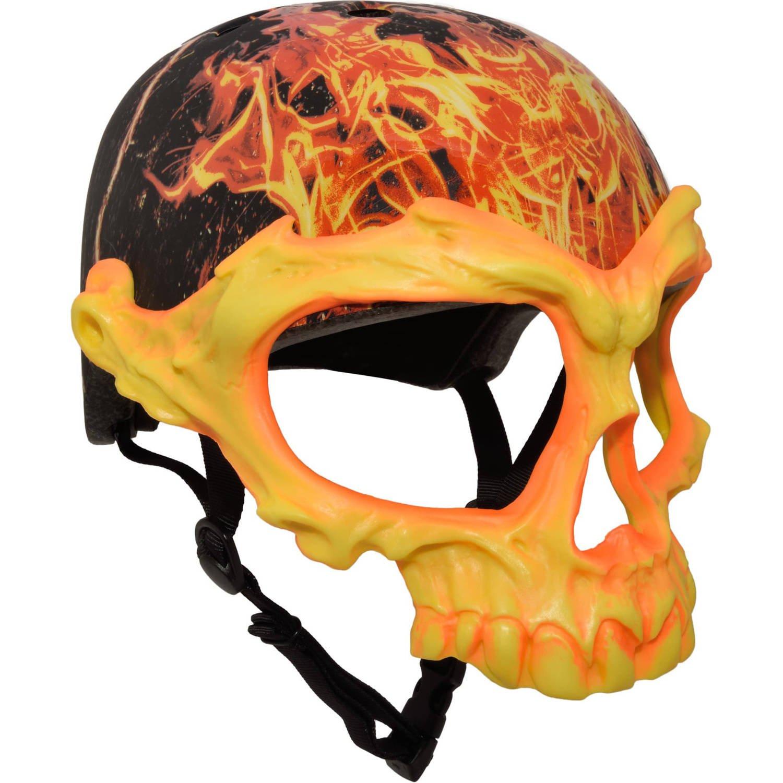 C-Preme Krash Inferno Skull Mask Youth Helmet
