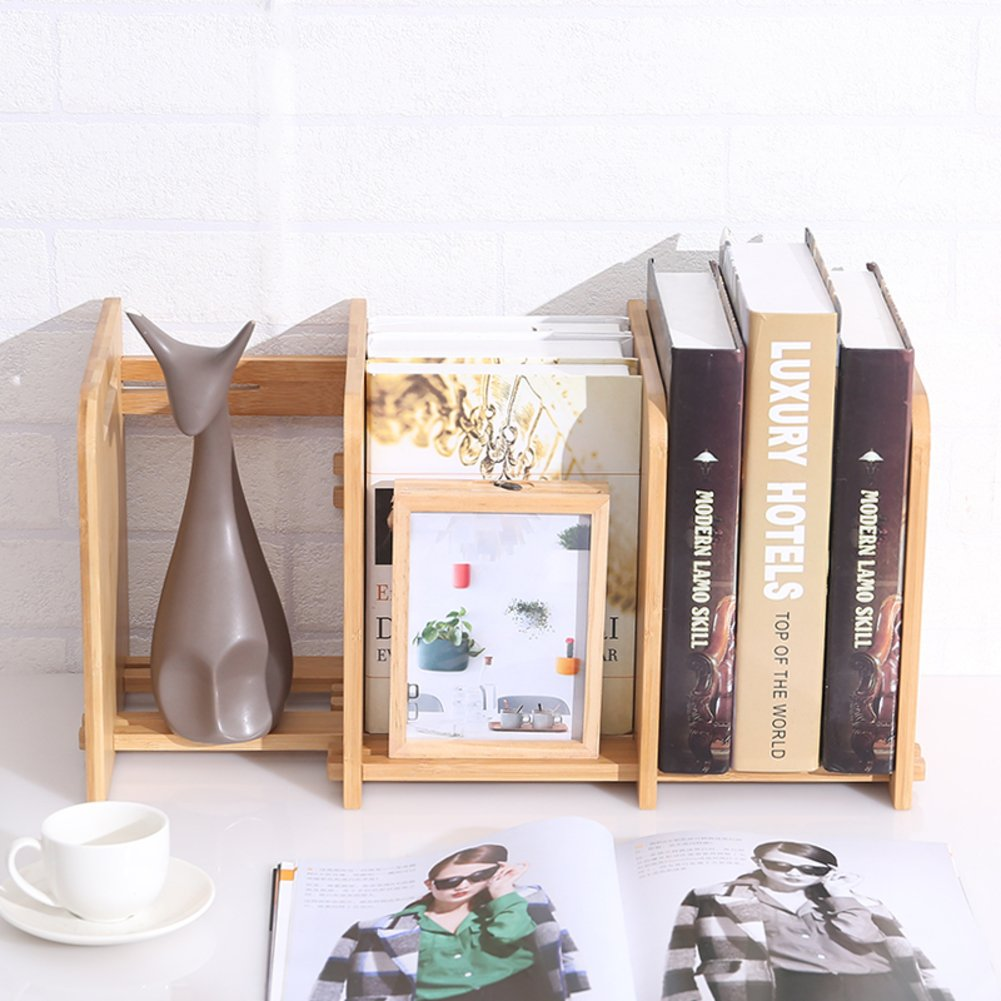 Wjxboos Bookshelf Desktop Bookcase Creative Student Mini