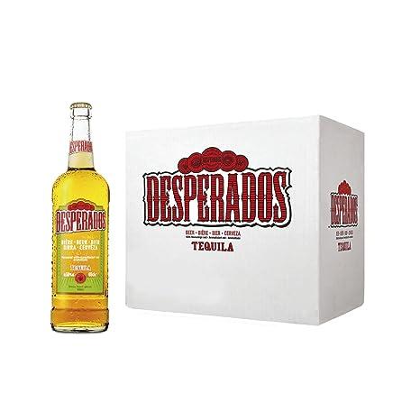 Desperados Cerveza - Caja de 12 Botellas x 650 ml - Total: 7.80 L