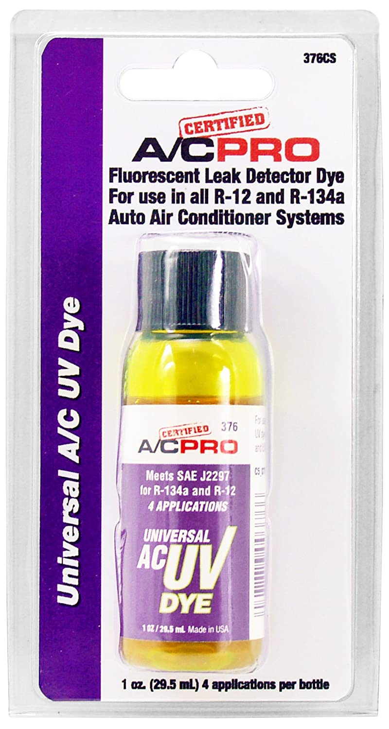 Interdynamics 376CS Air Conditioning Universal Dye - 1 oz. Bottle