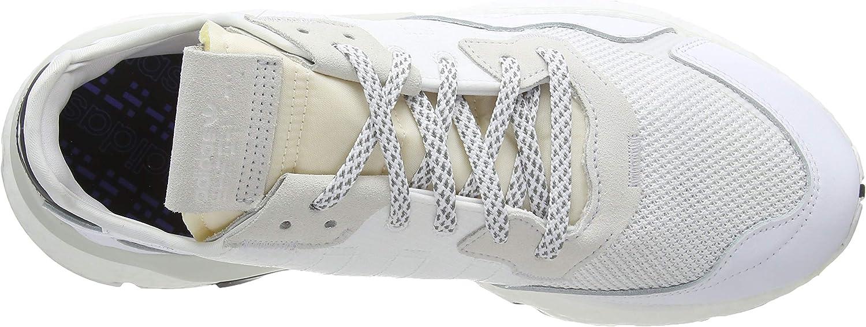 Adidas Herren Nite Jogger Laufschuh, Schwarz Ftwr White Ftwr White Crystal White