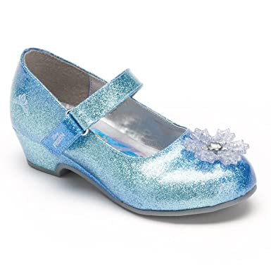 Amazon.com: Disney Frozen Elsa Girls' Dress Shoe Mary Janes: Shoes