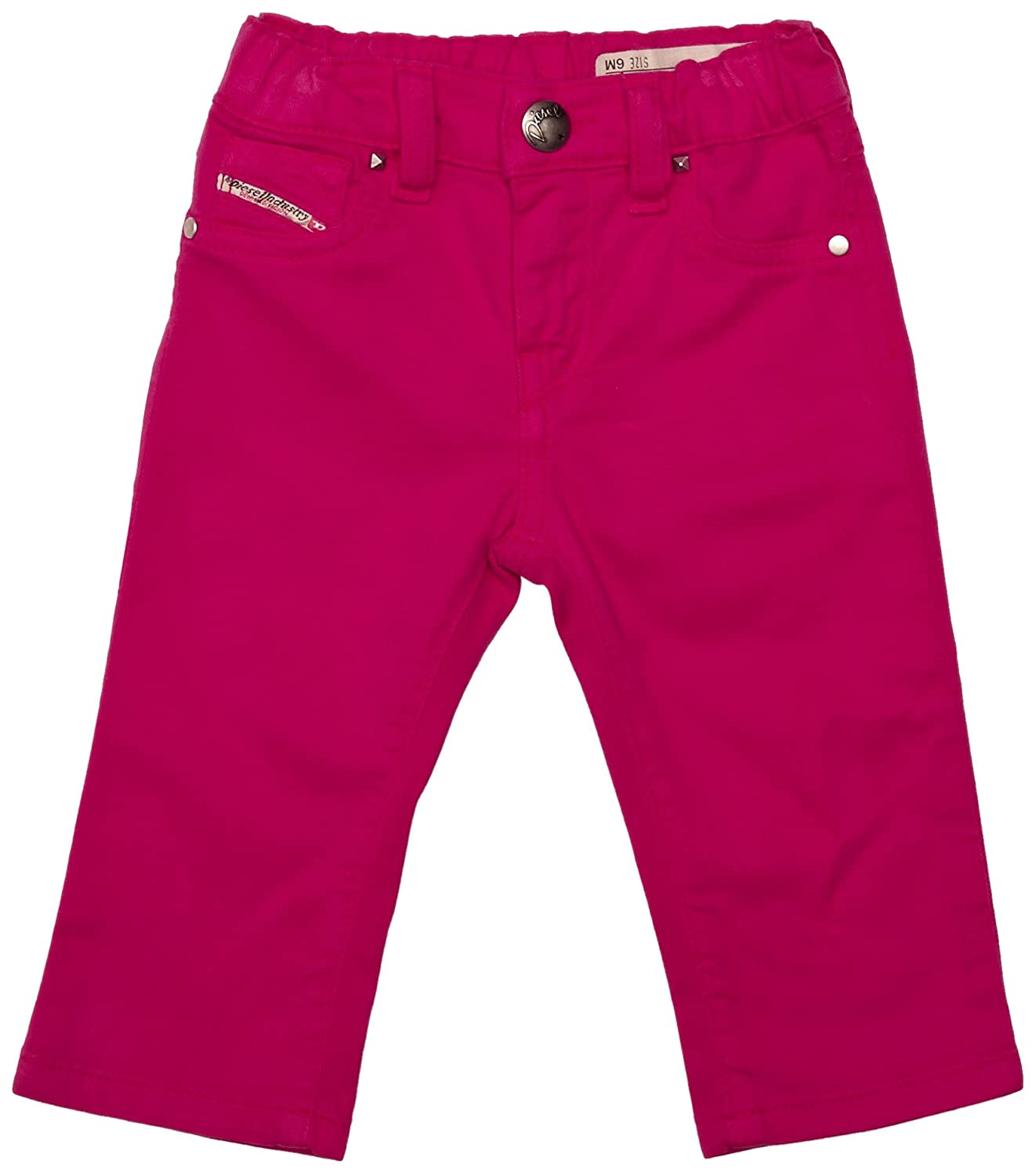 Hot Pink, 3 Months Diesel Baby Girl Jeans