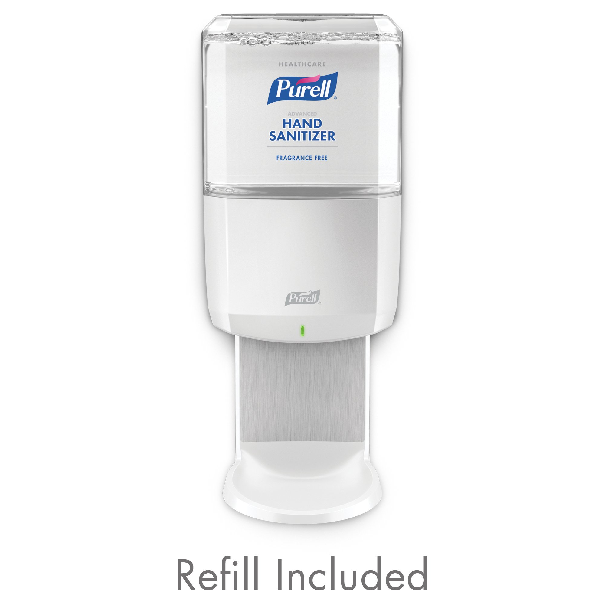 Purell 6451-1W PURELL Healthcare Advanced Hand Sanitizer Kit, Gentle & Free Foam Refill + 1 ES6 White Dispenser